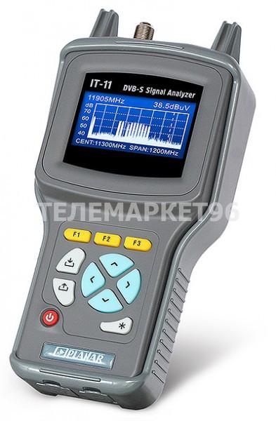 Измеритель спутникового сигнала DVB-S Планар ИТ-11 с анализатором спектра