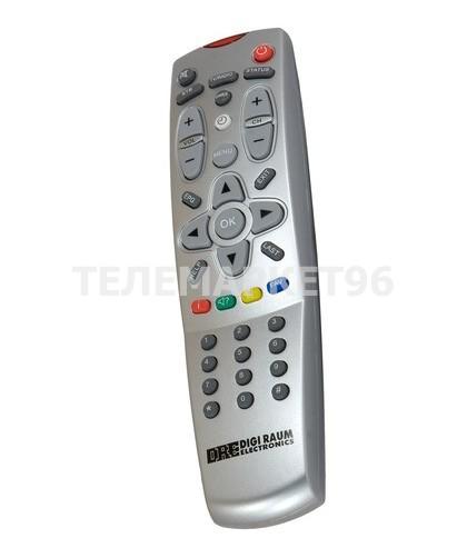 Пульт ДУ для спутниковых ресиверов Триколор ТВ DRE5000 DRE5001 DRE7300
