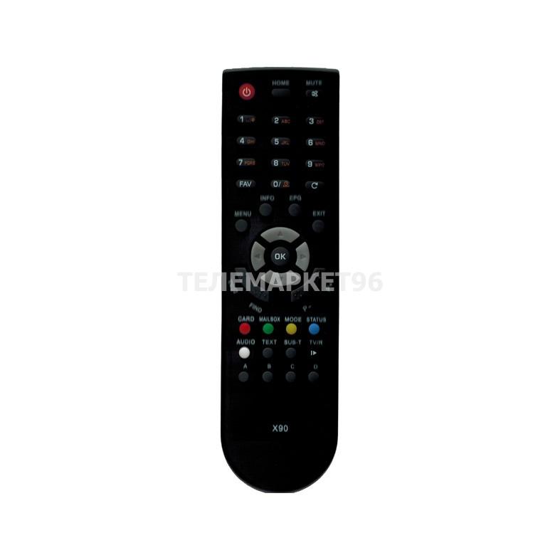 Пульт ДУ для ресиверов Телекарта ТВ Globo X90