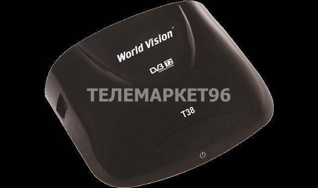 Цифровая эфирная ТВ приставка (ресивер) World Vision T38