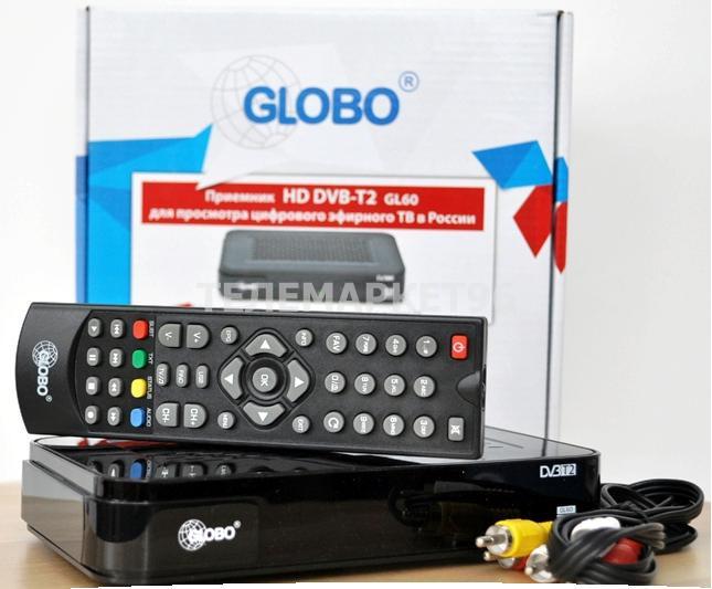 ТВ приставка цифровая эфирная с мультимедиаплеером Globo GL30 HD